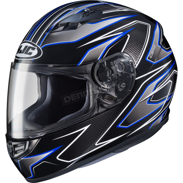 HJC Black/Blue MC-2 CS-R3 Spike Helmet - 132-924