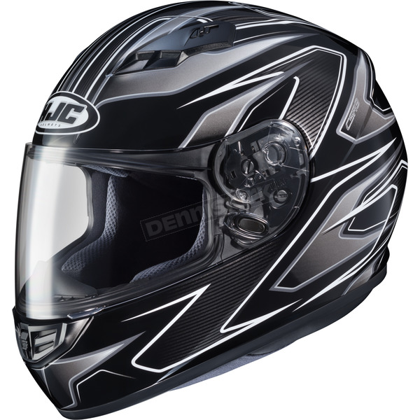 HJC Black/Silver MC-5 CS-R3 Spike Helmet - 132-954