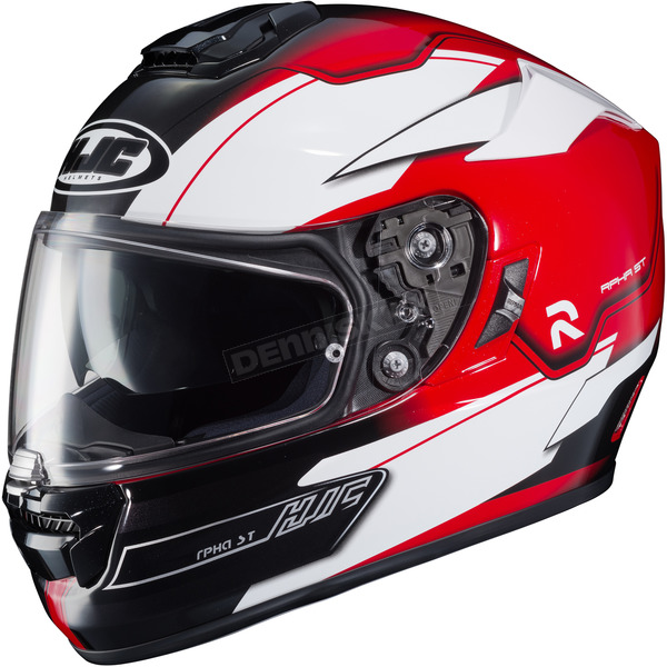HJC Black/Red/White MC-1 RPHA-ST Zaytun Helmet - 1608-916