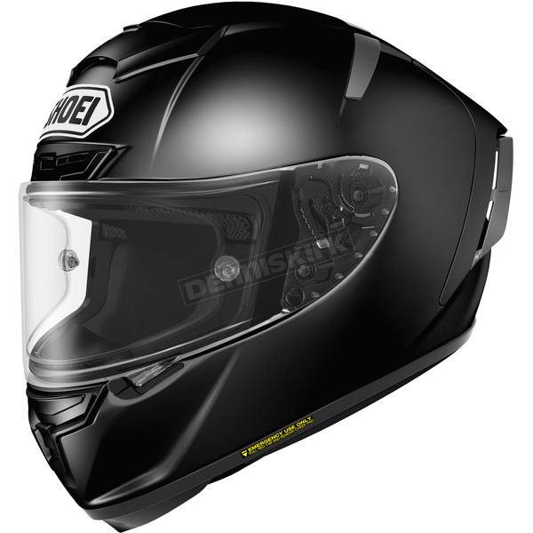 Shoei Helmets Black X-Fourteen Helmet - 0104-0105-07