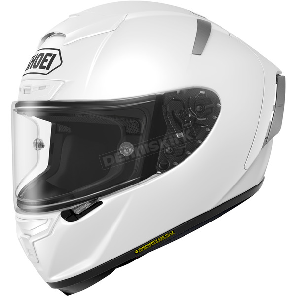 Shoei Helmets White X-Fourteen Helmet - 0104-0109-06