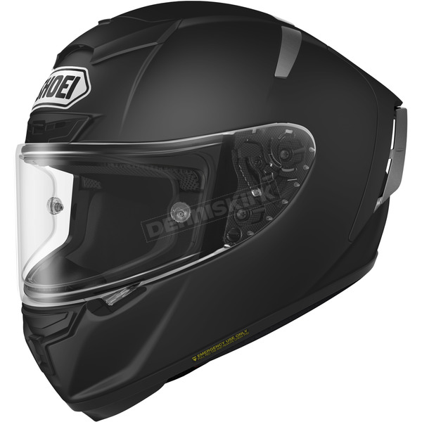 Shoei Helmets Matte Black X-Fourteen Helmet - 0104-0135-07