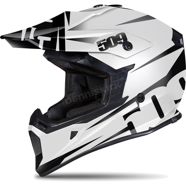 509 White/Black Contrast Tactical Helmet - 509-HEL-TCO-2XL