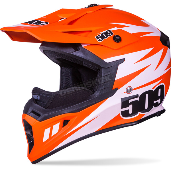 509 Matte Orange Tactical Helmet - 509-HEL-TOR-LG