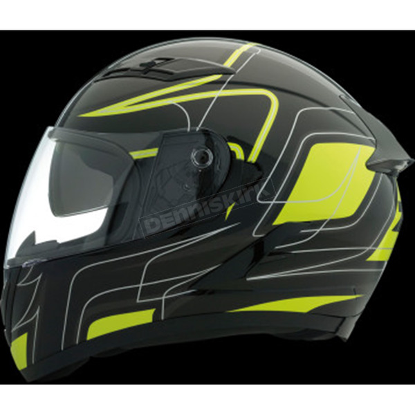 Z1R Black/Hi-Viz Yellow Strike OP SV Helmet - 0101-9099