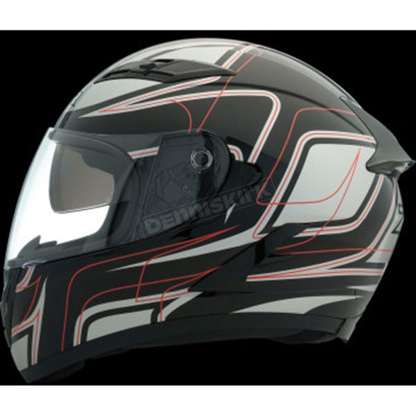 Z1R Black/Red Strike OP SV Helmet - 0101-9106