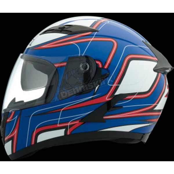 Z1R Blue/Red/White Strike OP SV Helmet - 0101-9115