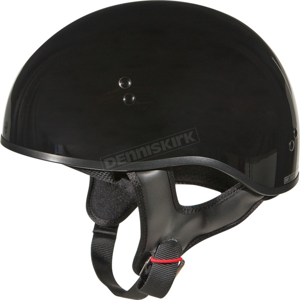 GMax Gloss Black GM45 Naked Half Helmet - G145023