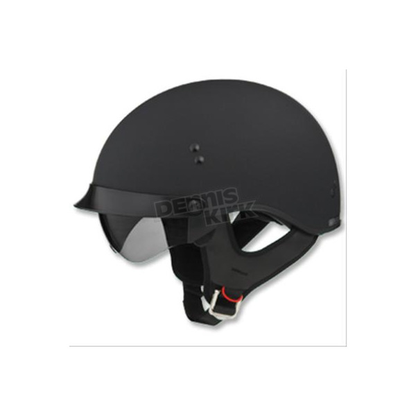 GMax Flat Black GM65 Full Dress Half Helmet - G9650078