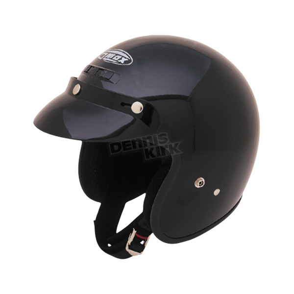 GMax Black Open Face Helmet - G102026