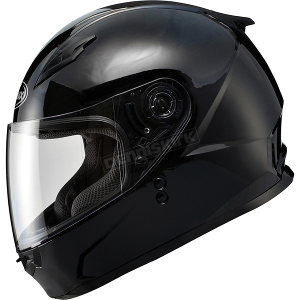 GMax Youth Gloss Black GM49Y Street Helmet - G7490022