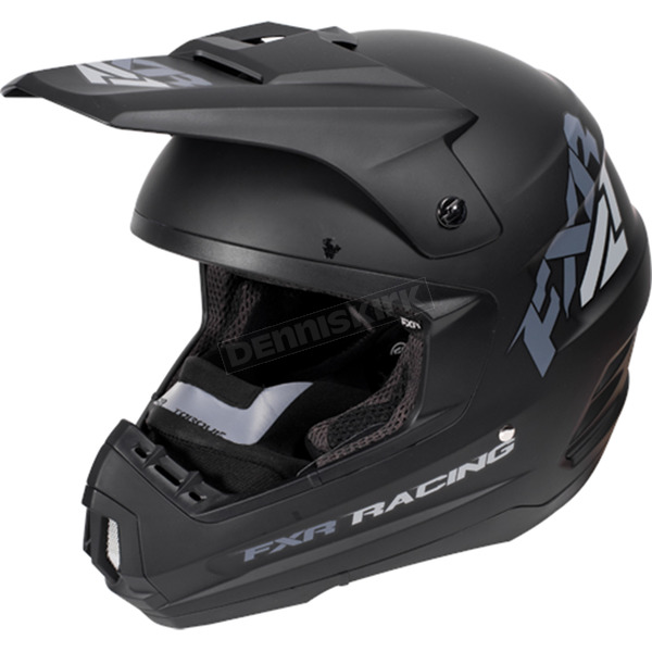 FXR Racing Black Ops Torque Recoil Helmet - 170620-1010-07