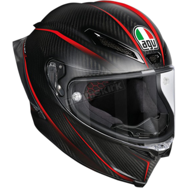 AGV Black/Red Pista GP R GP-9 Helmet - 6021O2HY00106