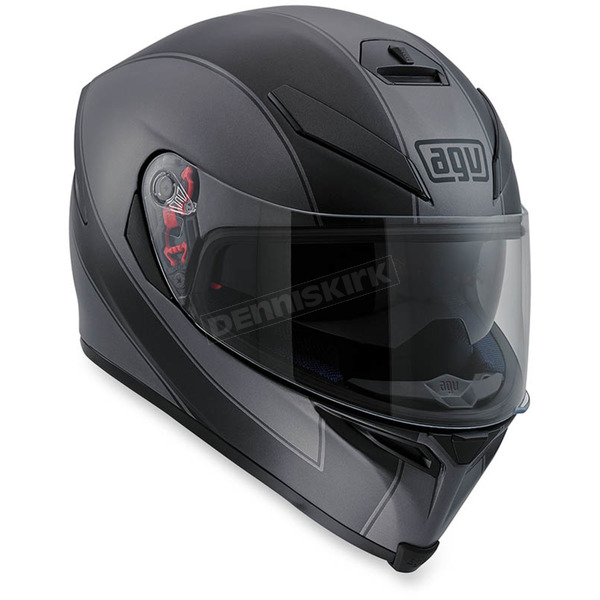 AGV Black/Gray K-5 S Enlace Helmet - 0041O2HY00106