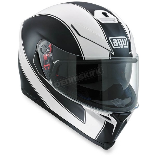 AGV White/Black K-5 S Enlace Helmet - 0041O2HY00206