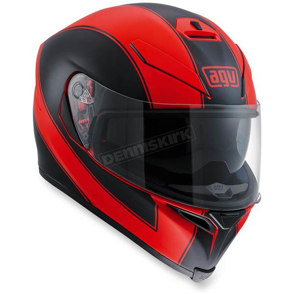 AGV Red/Black K-5 S Enlace Helmet - 0041O2HY00309
