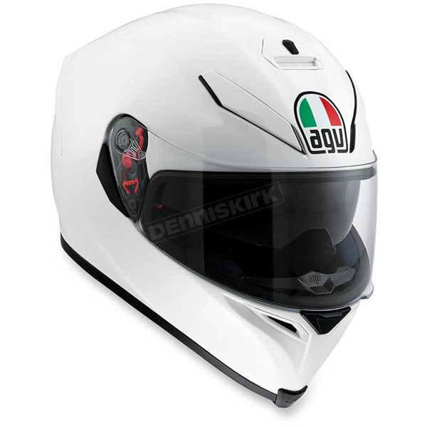 AGV Pearl White K-5 S Solid Helmet - 0041O4HY00506