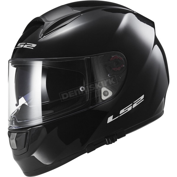 LS2 Gloss Black Citation Helmet - 397-6007