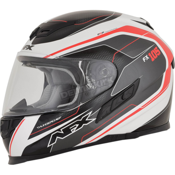 AFX Red FX-105 Thunderchief Helmet - 0101-9733