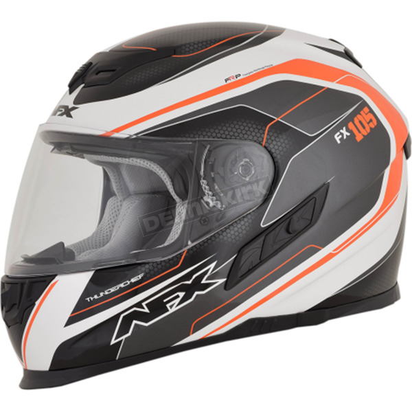 AFX Orange FX-105 Thunderchief Helmet - 0101-9757