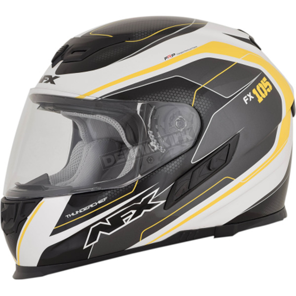 AFX Yellow FX-105 Thunderchief Helmet - 0101-9772