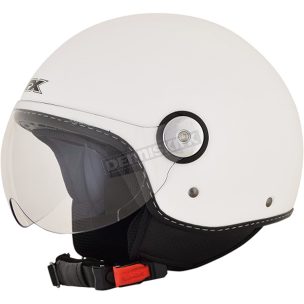 AFX Pearl White FX-33 Scooter Helmet - 0106-0679