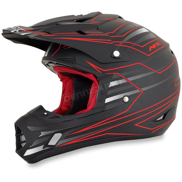 AFX Red FX-17 Mainline Helmet - 0110-4998