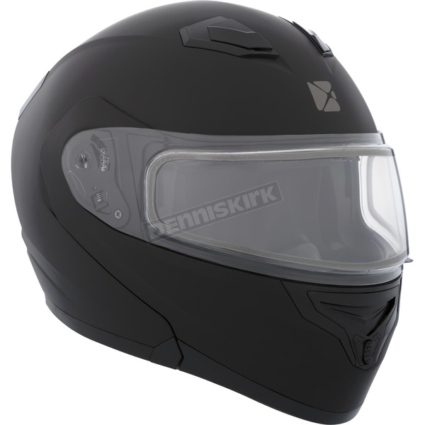 CKX Black Flex RSV Snow Modular Helmet w/Electric Shield - 506046