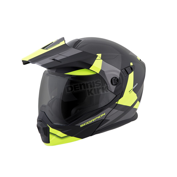 Scorpion Hi-Viz Neon EXO-AT950 Neocon Helmet - 95-1013