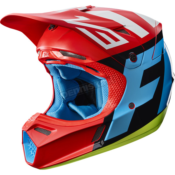 Fox Red V3 Creo Helmet - 19094-003-XL