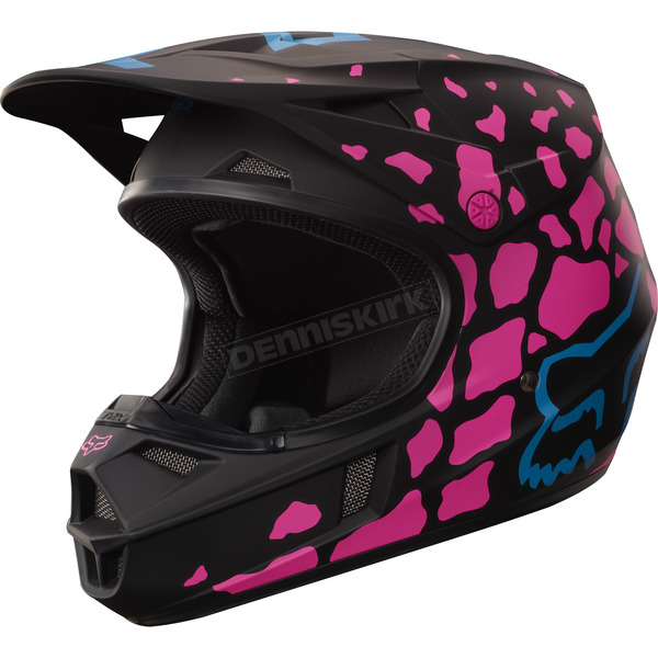 Fox Youth Black/Pink V1 Grav  - 17402-285-M