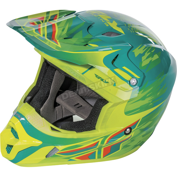 Fly Racing Youth Short Replica Kinetic Pro Helmet - 73-3314YL