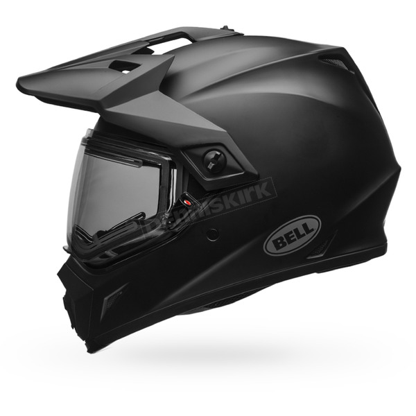 Bell Helmets Matte Black MX-9 Adventure Snow Helmet w/Electric Shield - 7075792