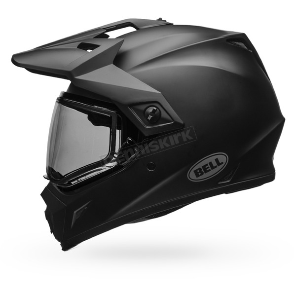 Bell Helmets Matte Black MX-9 Adventure Snow Helmet w/Dual Lens Shield  - 7075967