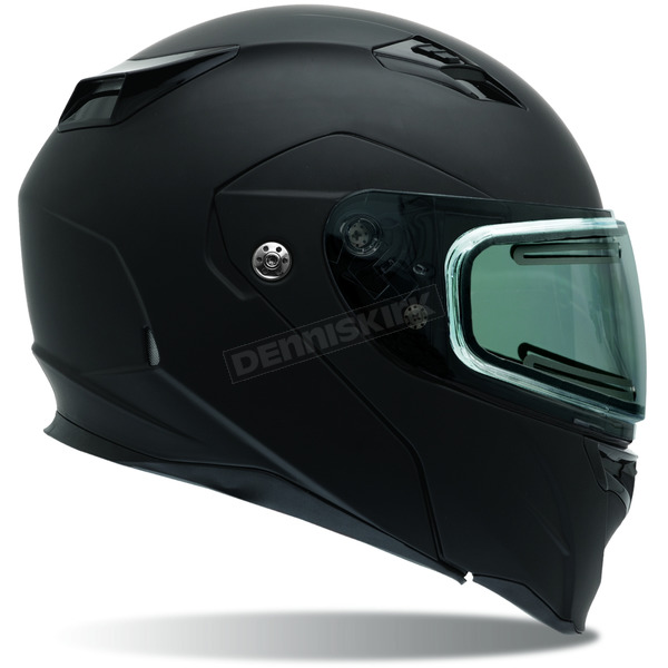 Bell Helmets Matte Black Revolver EVO Snow Helmet w/Electric Shield - 7076234