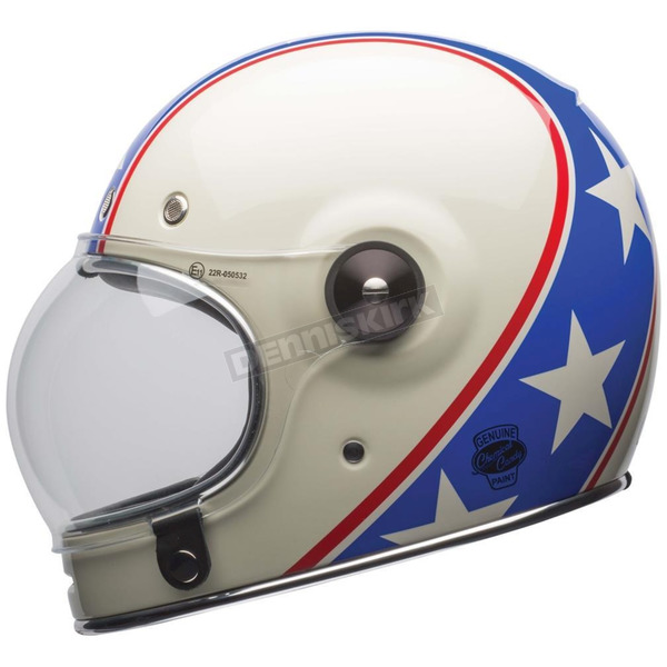 Bell Helmets Red/White/Blue Bullitt Chemical Candy LE Helmet - 7084396