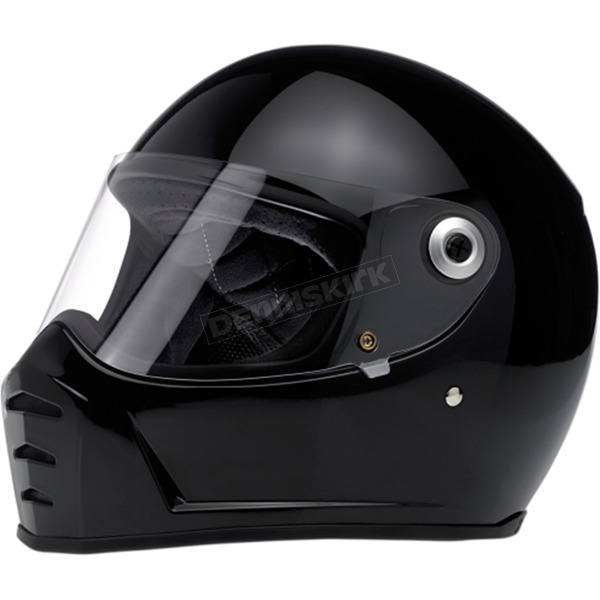 Gloss Black Lane Splitter Helmet