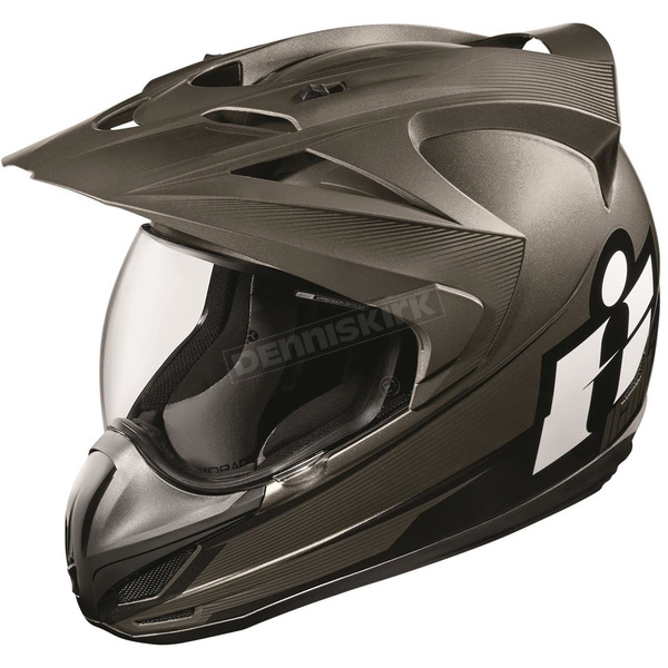 Icon Black Variant Double Stack Helmet  - 0101-9993