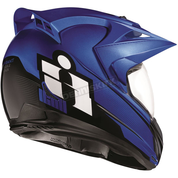 Icon Blue Variant Double Stack Helmet - 0101-10001