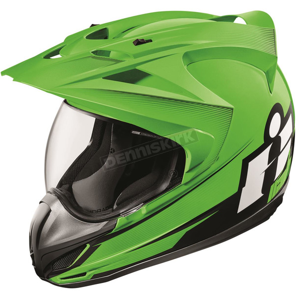 Icon Green Variant Double Stack Helmet - 0101-10006