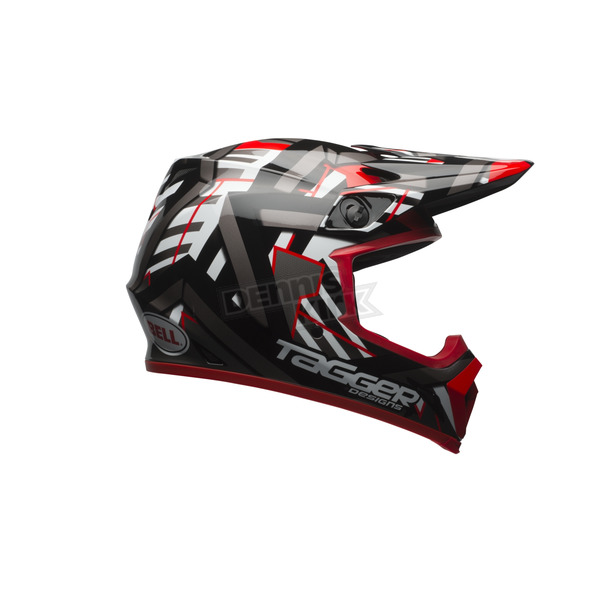 Bell Helmets Black/Red MX-9 Tagger Double Trouble Mips Helmet - 7080777