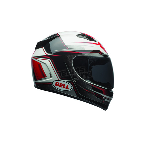 Bell Helmets Red/Black/White Vortex Marker Helmet - 7081095
