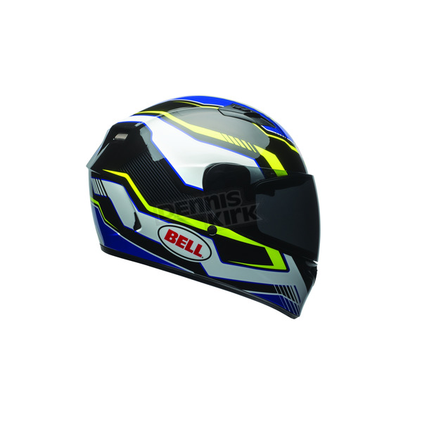 Bell Helmets Black/Blue/Yellow Qualifier Torque Helmet - 7081188