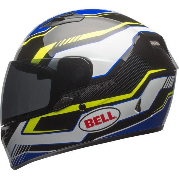 Bell Helmets Black/Blue/Yellow Qualifier Torque Helmet - 7081185