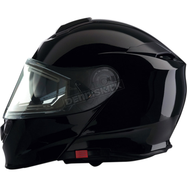 Z1R Black Solaris Modular Snow Helmet w/Electric Shield - 0120-0387