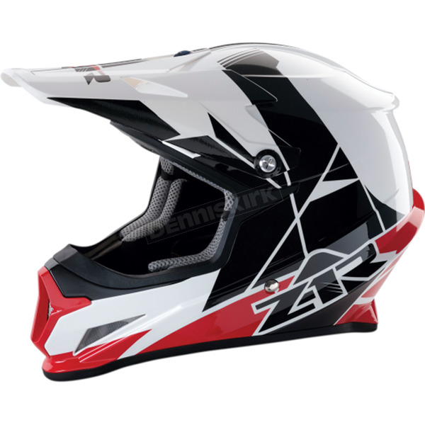 Z1R Red Rise Helmet - 0110-5117