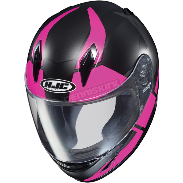 HJC Youth Semi-Flat Black/Pink/Gray CL-Y Boost MC-8SF Helmet - 236-784