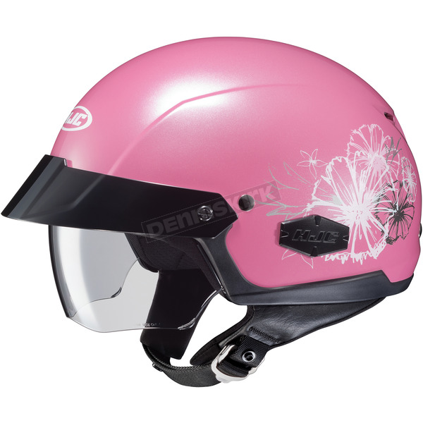 HJC Pearl Pink IS-Cruiser Blush MC-8 Helmet - 490-981