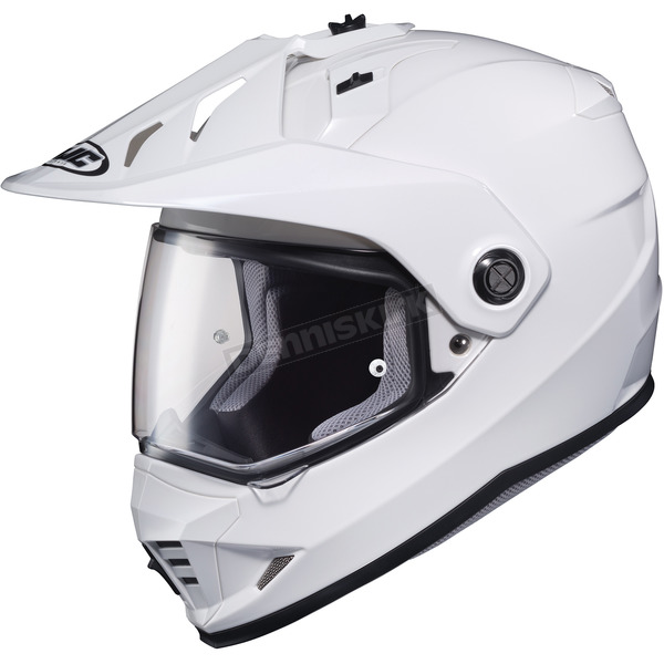 HJC White DS-X1 Helmet - 510-144