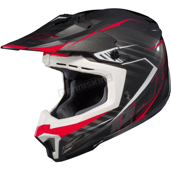 HJC Black/Red CL-X7 Blaze MC-1 Helmet - 752-914
